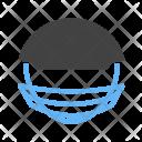 Sports Man Helmet Icon