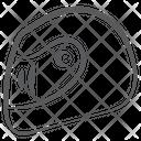 Sports Helmet Bike Helmet Racing Helmet Icon