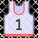 Sports Vest Shirt Sportswear Icon