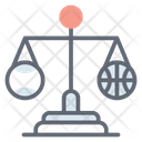 Sports Law Games Law Justice Scale Icon