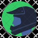 Helmet Sport Moto Icon