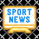Sport News Color Icon