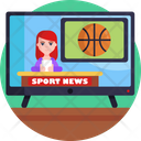 News Broadcasting Television News News Channel Icon