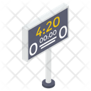 Scoreboard Sports Board Sports Score Icon