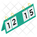 Sports Scorecards Icon