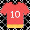 Sports Shirt Dress Sports Jersey Icon