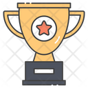Sports Trophy Star Trophy Award Trophy Icon