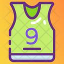 Sports Vest Sports Shirt Players Shirt Icon