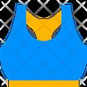 Sports Bra Sports Wear Clothes Icon