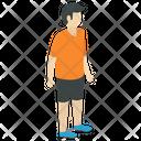 Sportsman Sportsperson Athlete Icon