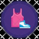 Sportswear Lifestyle Fitness Icon