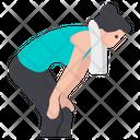 Sportswoman Sportsperson Sportsgirl Icon