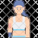 Sporty Female Icon