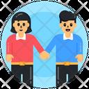 Spouse Partners Couple Icon