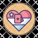 Spouse Appreciation Day Success Heart Icon