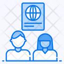 Spouse Visa Document Couple Visa Icon