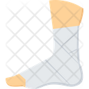 Sprain Foot Injury Icon