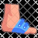 Foot Injury Foot Pain Sprain Icon