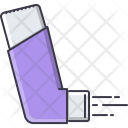 Spray Asthma Medicament Icon