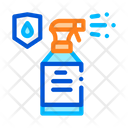 Waterproof Material Spray Icon