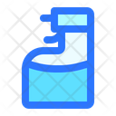 Spray Water Cleaning Icon
