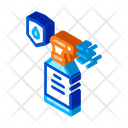 Drop Hydrophobic Logo Icon