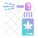 Cannabis Spray Marijuana Icon