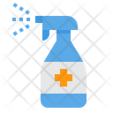 Spray Cleaning Froggy Icon