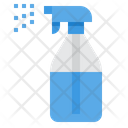 Spray Clean Cleaning Icon