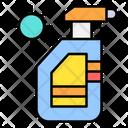 Spray Disinfectant Sanitizer Icon
