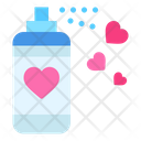 Spray Paint Heart Icon