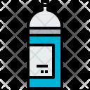 Spray Art Design Icon