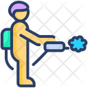 Spray Antibacterial Icon