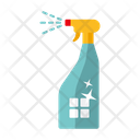 Spray Bottle Chores Cleaning Icon