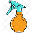 Water Spray Spray Bottle Plastic Bottle Icon