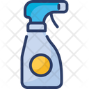 Spray Bottle Cleaning Alcohol Icon