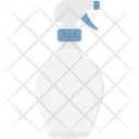 Barbershop Cleaning Shower Bottle Icon