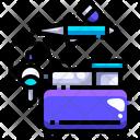 Spray Color Airbrush Airbrush Icon