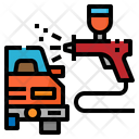 Spray Gun Paint Icon