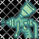 Spray Gun Paint Industry Icon