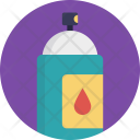 Spray Container Color Icon