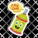 Spray Bottle Spray Paint Painting Bottle Icon