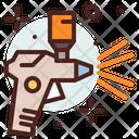 Spray Paint Gun Icon