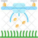 Dronev Spray Seeds Drone Icon