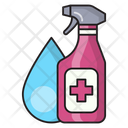 Sprayer Cleaning Dusting Icon