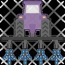 Spraying Field Spraying Tractor Water Spray Icon