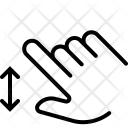 Spread Vertical Zoom Icon