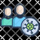Spread Virus Spread In Crowd Virus Spread Icon