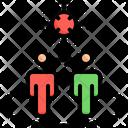 Spread Virus Transmission Virus Icon