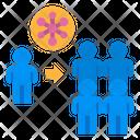 Spread Virus Carrier Icon